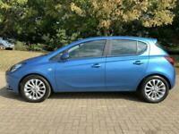 2017 Vauxhall Corsa 1.4I SE AUTO 5DR HEATED PART LEATHER SEATS + HEATED STEERIN