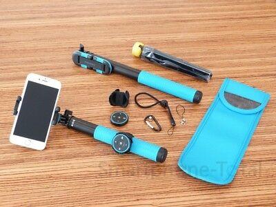 Momox Profi Selfie Stick 150cm Bluetooth App Ständer Stabil iPhone Samsung Sony