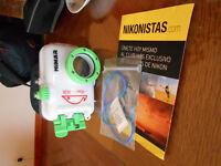 camera nikon s2800 avec caisson sous-marin