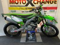 2020 KAWASAKI KXF 450....£5695....MINT BIKE....MOTO X CHANGE