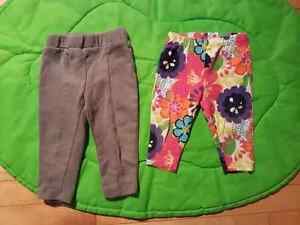 Baby girl clothes 3-6 months ( sleepers, onsies, pants ect)