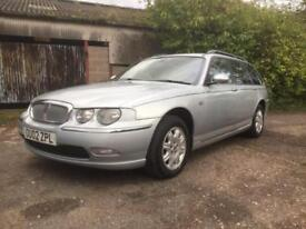 Rover 75 Tourer 2.0 CDT Two Retired Owners from New The Last Since 2005