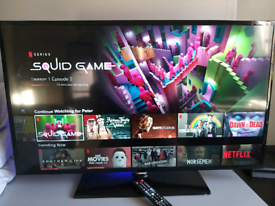 """46"""" SAMSUNG SMART LED HD T.V .... stand and remote included"""