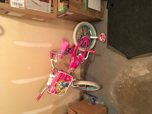 Barbie cycle with bag