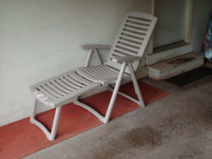 5 POSITION PATIO CHAISE LOUNGE