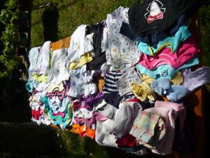 BABY CLOTHES GIRL 0-1 YEAR OLD. VÊTEMENTS DE BÉBÉ FILLE 0-1 AN