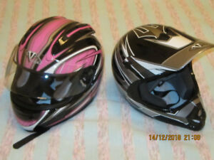 Motorcycle Helmets - Youth' Vega Altura and Mojave Jr.