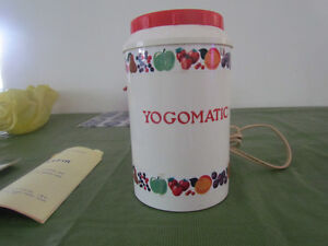 yogurt maker   YOGOMANTIC