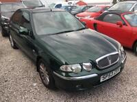 2003 53 Green Rover 45 1.6i Impression S