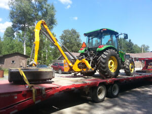 FOR HIRE Tractor/ Mower/Brusher