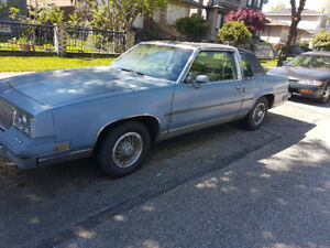 1984 Oldsmobile Cutlass Supreme G body with t-top~mechanic owned