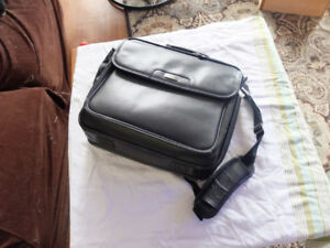 Targus leather laptop case and bag