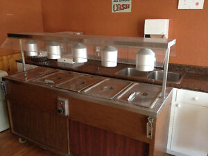Hot Buffet Table for Sale