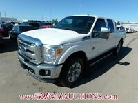 2014 FORD F350SD CREW 4WD LARIAT