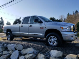 2007 Dodge Ram 3500 Laramie 6.7L Diesel Quad Cab Long Box