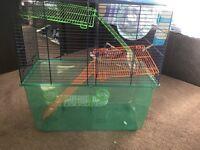 Gerbilarium cage gerbils hamster comes with accessories