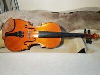Violin Czech Josephus Ruzicka Opava