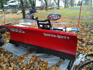 Heavy Duty boss 8'  straight blade plow