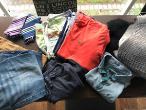 Assorted Men's Lacoste, Guess, Calvin Klein, RW&Co Clothing
