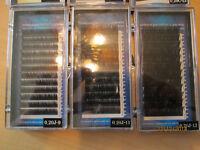 extentions de cils, inventaire complet 120.00
