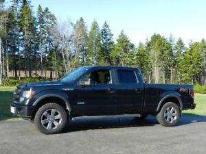 2014 Ford F-150 FX4 Max Trailer Tow, Leather Heated Seats