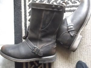 Harley-Davidson Leather Riding Boots New Condition