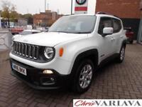 2016 Jeep Renegade LONGITUDE Petrol white Manual
