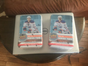 2017-18 Upper Deck Hockey Cards Series 2 Tins