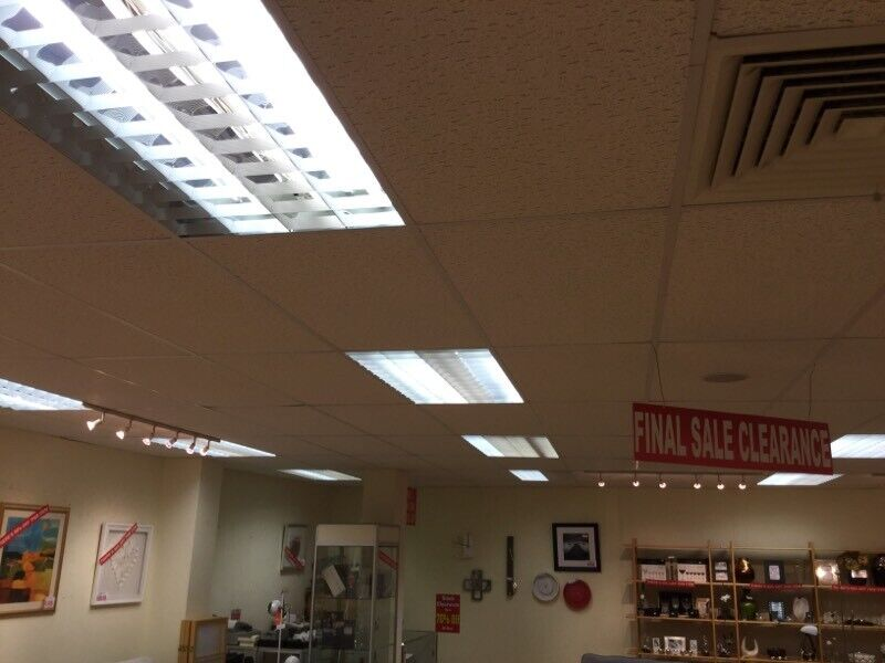 Ceiling tiles and ceiling lights   in Dunfermline, Fife   Gumtree