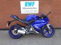 YAMAHA YZF R 125, 2014, ONLY 3,136 MILES, EXCELLENT CONDITION, FULL MOT