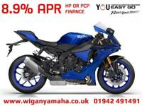 YAMAHA R1, 18 REG ONLY 429 MILES, 2018 MODEL WITH BLIPPER QUICK SHIFTER...