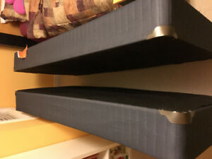 2 Twin Box Springs for a King Bed