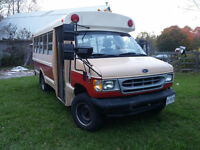 1999 Ford E-350 School Bus/motorhome