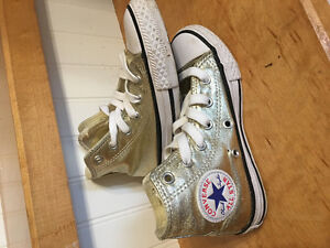 3 pairs converse high tops - Toddler size 11