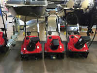 Honda Snowblowers on sale