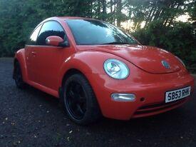 Bargain VW Beetle 1596cc £1075
