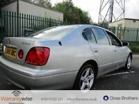 LEXUS GS 300 SE, Silver, Auto, Petrol, 2002