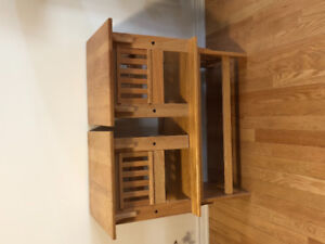 Centre & 2 side Tables (woods)