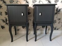 Pair of IKEA Edland Bedside Tables