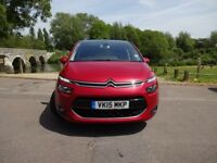 Citroen C4 Picasso e-HDi 115 ETG6 Exclusive (red) 2015
