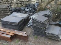 Roof tiles and ridge tiles - free