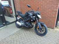 2018(18) YAMAHA MT125 ABS DELIVERY MILEAGE