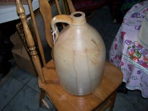Large # 2 Stoneware Jug - great patina