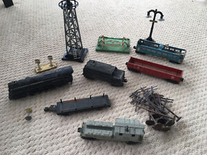 O Scale Lionel Model Train Vintage Pieces