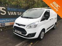 2014 64 FORD TRANSIT CUSTOM 2.2 290 TREND LR 100 BHP LOW MILES ONE OWNER CRUISE