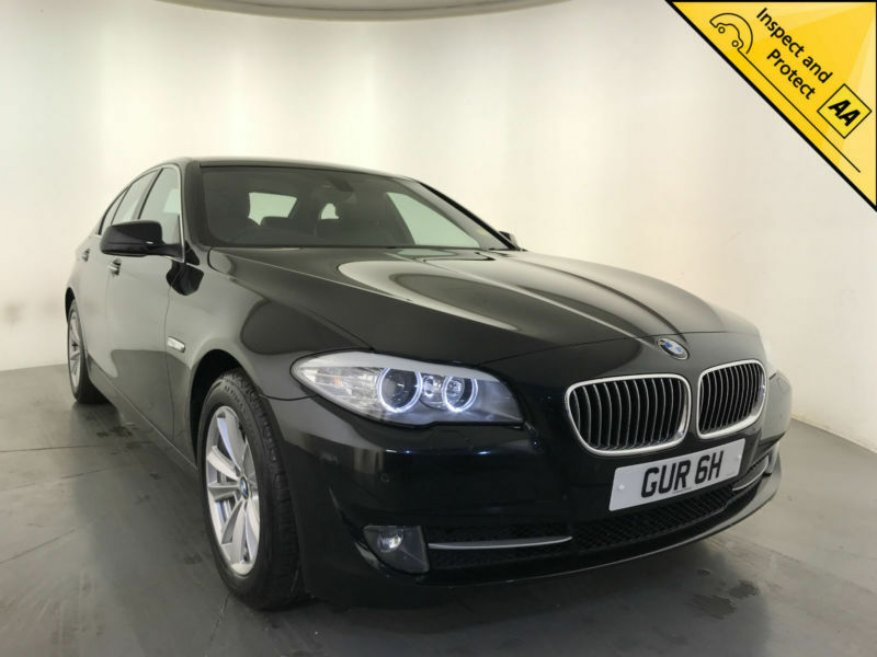 2013 Bmw 525d Se Auto Diesel Sat Nav Leather Interior Service
