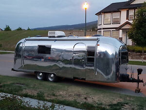 1967 Airstream Overlander completely updated and redone