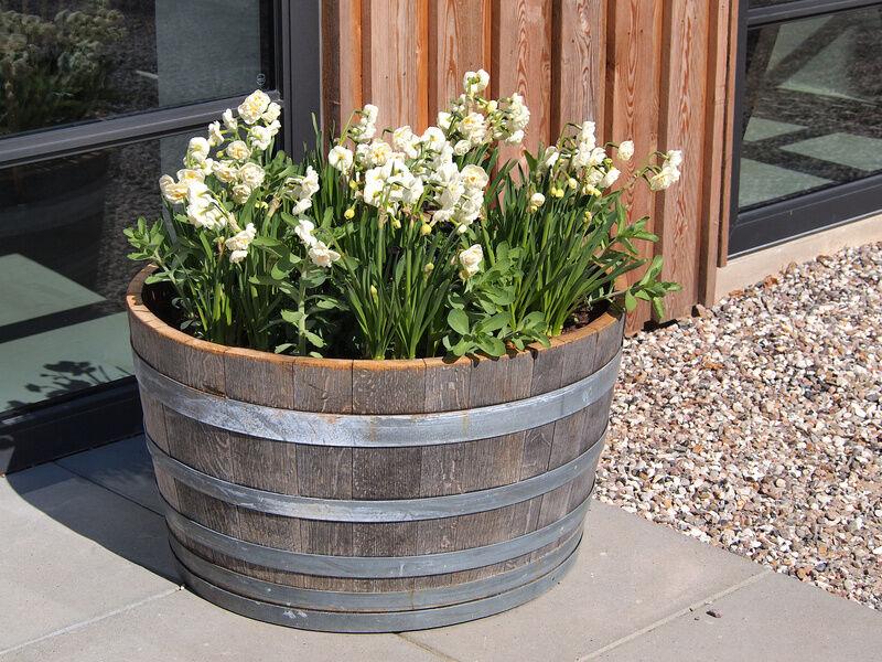 How to build a wood flower pot ebay - Wooden flower pot designs ...