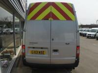 2013 Ford TRANSIT 350 H/R LWB 125ps VAN *SILVER* Manual Large Van