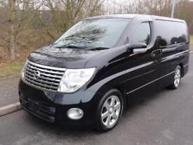 2004 Nissan Elgrand HIGHWAY STAR 4WD FRESH IMPORT 3.5 2dr